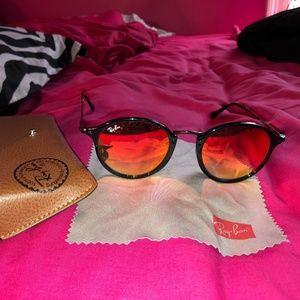 Ray-Ban orange tint sunglasses